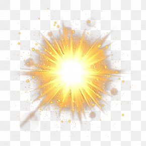 Sky Sunlight - Yellow Background PNG