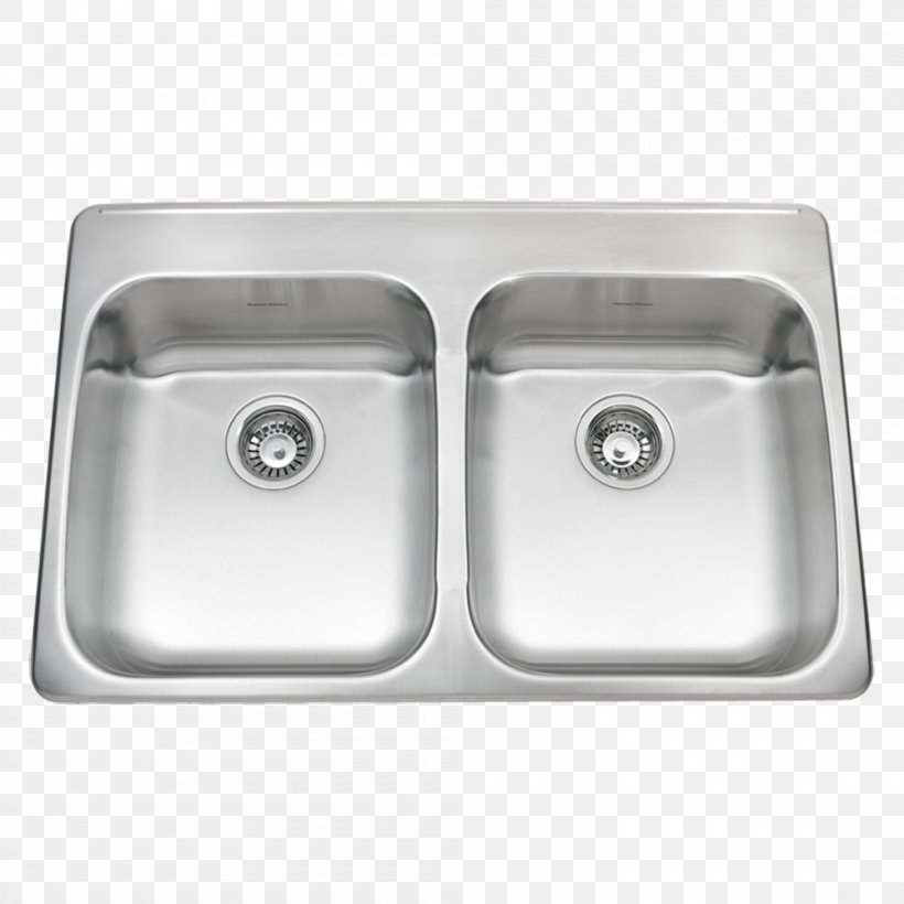 Kitchen Sink Kitchen Sink Stainless Steel Drain, PNG, 1000x1000px, Sink, Bathroom Sink, Bowl, Cast Iron, Drain Download Free