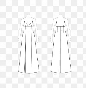 Pale Clothes - Dress Clothing Fashion Design Pattern PNG
