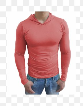 T-shirt - T-shirt Sleeve White Red PNG