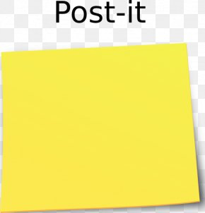 Post It Note - Post-it Note Paper Download Clip Art PNG
