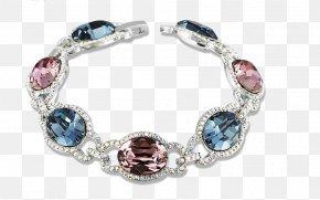Swarovski Elements Crystal Bracelet - Bracelet Swarovski AG Earring Crystal Quartz PNG
