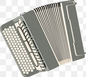 Gray Accordion Vector - Trikiti Diatonic Button Accordion Garmon PNG