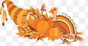 Cartoon Thanksgiving Turkey Day Creatives - Turkey Thanksgiving Dinner Clip Art PNG