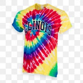 T-shirt - T-shirt Illinois Fighting Illini Baseball Illinois Fighting Illini Football Tie-dye PNG
