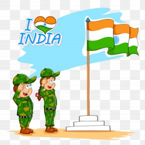Saint Patricks Day Cartoon - India Independence Day India Flag PNG