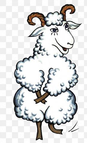 Cartoon Goat - Sheep Goat Clip Art PNG