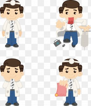 Doctor Cartoon Elements - Cartoon Physician PNG