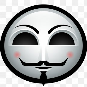 Anonymous Mask - Guy Fawkes Mask Avatar PNG