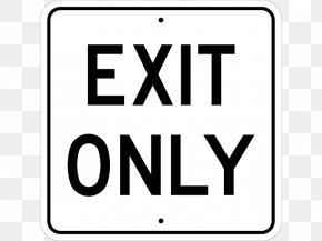 Exit Signs Pictures - Traffic Sign Manual On Uniform Traffic Control Devices Exit Sign PNG