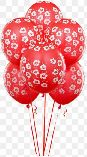 Transparent Red Balloons Clipart - Balloon Birthday Clip Art PNG