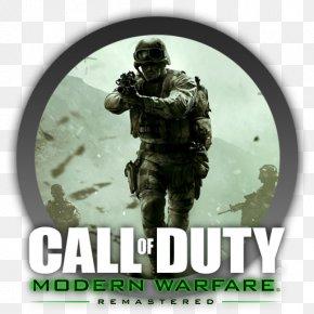 Call Of Duty - Call Of Duty: Modern Warfare Remastered Call Of Duty 4: Modern Warfare Call Of Duty: Infinite Warfare Call Of Duty: WWII Call Of Duty: Modern Warfare 2 PNG