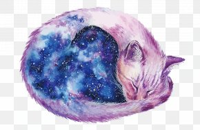 Vector Sky Cats - Cat Watercolor Painting DeviantArt PNG