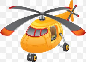 Helicopter - Helicopter Airplane Aircraft Cartoon Clip Art PNG