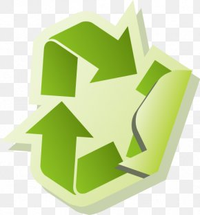 Vector Environmental Recycling Icon Design - Icon Design Clip Art PNG