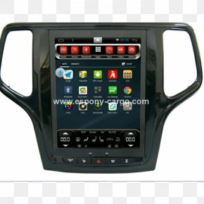 Jeep - Jeep Grand Cherokee Jeep Liberty GPS Navigation Systems Car PNG