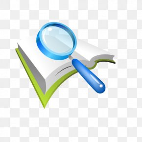 Vector Magnifying Glass Book - Research Magnifying Glass Proyecto De Investigacixf3n PNG
