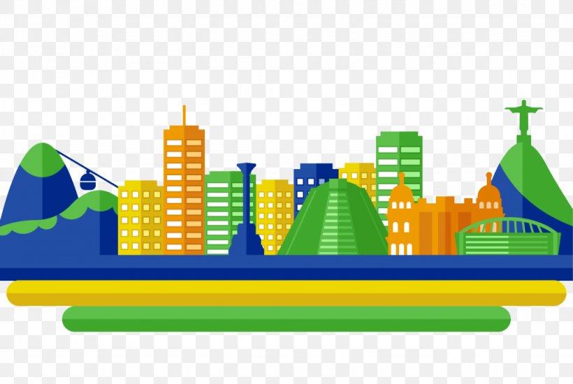 2016 Summer Olympics Rio De Janeiro Sport Flat Design, PNG, 1024x688px, Rio De Janeiro, Area, Brazil, Brazil Carnival, City Download Free