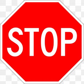 Sign Stop - Stop Sign Traffic Sign Clip Art PNG