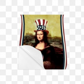 Fourth Of July Poster - Mona Lisa Renaissance Musée Du Louvre Portrait Art PNG