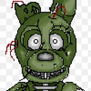 Five Nights At Freddy's Minecraft Pixel Art - Five Nights At Freddy's 3 Clip Art Pixel Art Illustration PNG