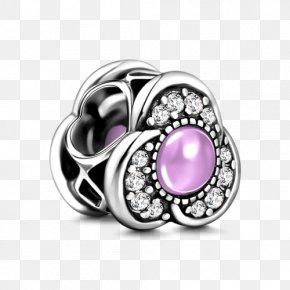 Jewellery - Jewellery Amethyst Charm Bracelet Platinum Silver PNG