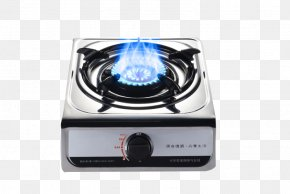 Small Household Gas Stove Material - Gas Stove Hearth Flame PNG