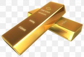 Gold - Gold Bar Precious Metal Clip Art PNG