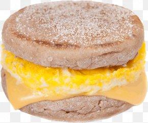 Open 24 Hours - English Muffin Egg Sandwich Breakfast Sandwich PNG