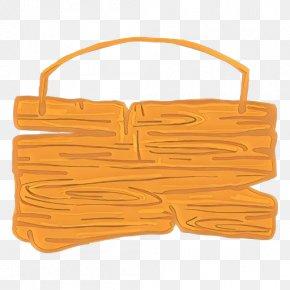 Handbag Bag - Orange PNG