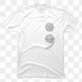 Fashion T-shirt Pattern - T-shirt Sleeve White Font PNG