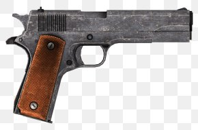 Guns - Fallout: New Vegas CZ 75 Pistol .45 ACP Firearm PNG