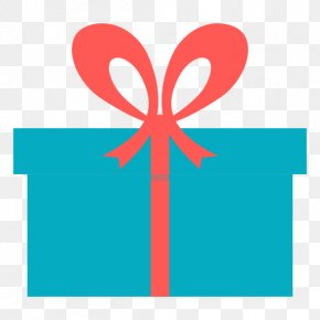 Blue Gift Box - Gift Box Pink Clip Art PNG