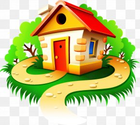Fir Cottage - House Property Clip Art Home Real Estate PNG