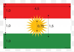 Measure - Iraqi Kurdistan Flag Of Kurdistan National Flag Flag Of The United States PNG