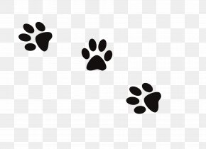 Dog Prints - Dog Cat Paw Footprint Clip Art PNG