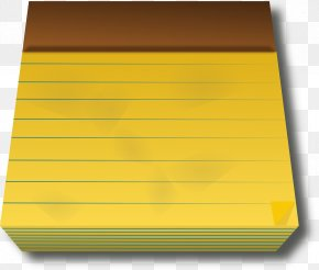 Notebook - Post-it Note Notebook Paper Clip Art PNG