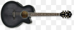 Semiacoustic Guitar - Guitar Amplifier Ibanez Acoustic-electric Guitar Semi-acoustic Guitar PNG