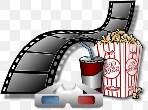 3D Glasses Cliparts - Cinema 3D Film PNG