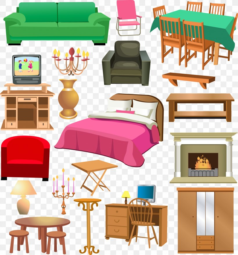Furniture Window Living Room House Clip Art Png