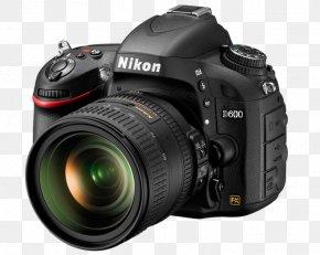 Camara Fotografica - Nikon D610 Nikon D600 Digital SLR Single-lens Reflex Camera PNG