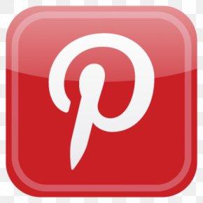Pinterest Button Logo - Social Media Facebook Social Networking Service Google+ Blog PNG