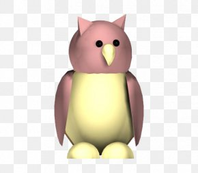 Pink Owl - Owl Animation Autodesk 3ds Max 3D Computer Graphics PNG