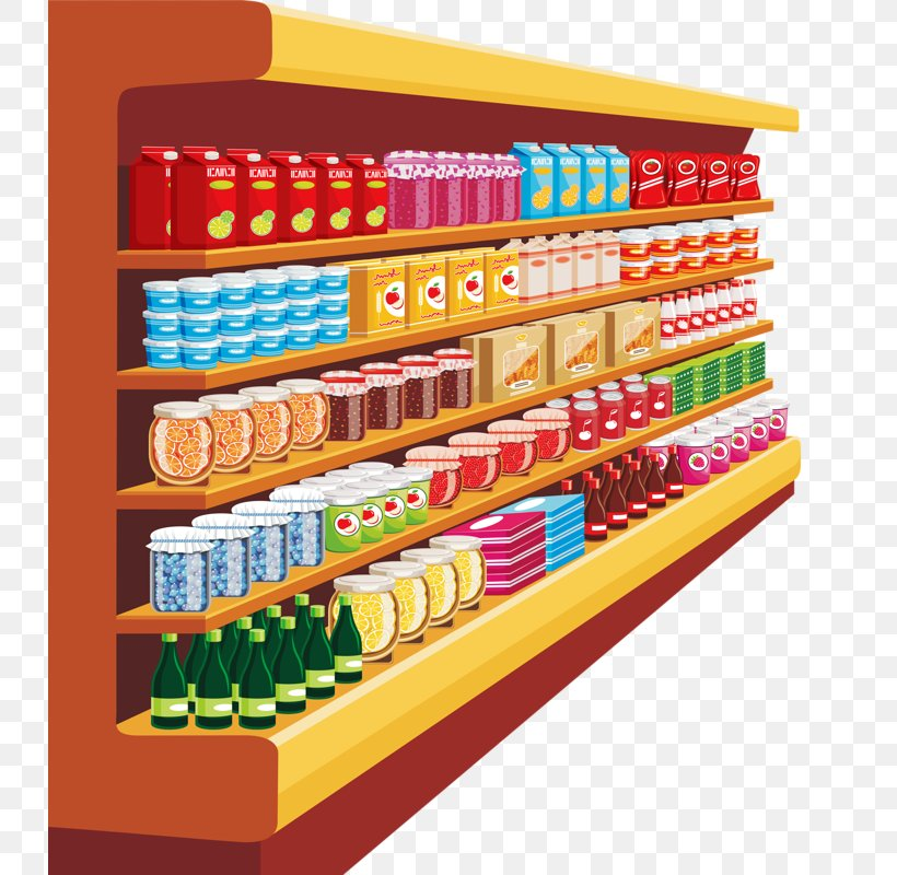 Supermarket Grocery Store Cartoon Clip Art, PNG, 731x800px ...