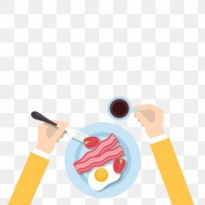 Floating Breakfast - Breakfast Eating Food Dinner PNG
