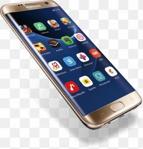 Galaxy - Samsung GALAXY S7 Edge Telephone Smartphone Computer PNG
