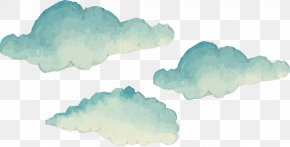 Hand-painted Clouds - Cartoon Cloud Euclidean Vector PNG