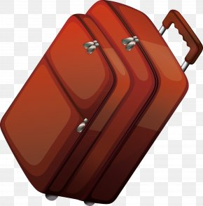 Suitcase Decoration Design - Hand Luggage Suitcase Baggage PNG
