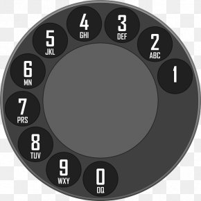 Old Phone - Rotary Dial Telephone Home & Business Phones Mobile Phones Dialer PNG