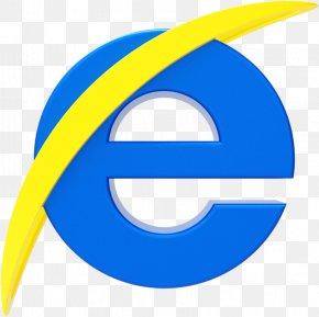 Electric Blue Symbol - Internet Logo PNG